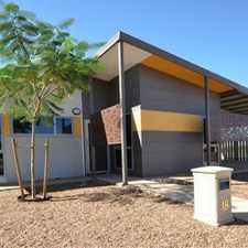 Rental info for UNIQUE PILBARA LIVING - Outstanding 4x2 in the South Hedland area