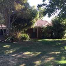 Rental info for A Must See! in the Perth area