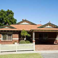 Rental info for Substantial Family Home in the Perth area