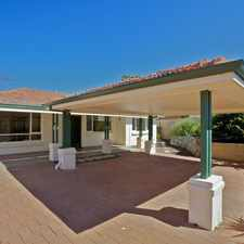 Rental info for FABULOUS 5x2! - ART DECO STYLE in the Karrinyup area