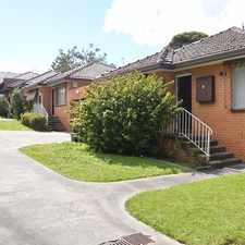 Rental info for BEACHSIDE LOCATION - CLOSE TO SHOPS AND TRANSPORT! in the Melbourne area