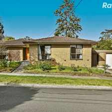 Rental info for Big Bright & Full of Potential in the Melbourne area