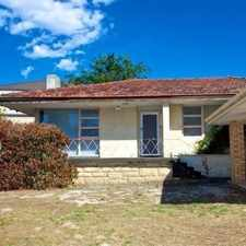 Rental info for MID -CENTURY TRENDY! in the Ardross area