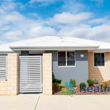 Rental info for Super low maintenance home with lock and leave lifestyle. in the Parmelia area