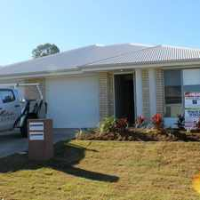 Rental info for BRAND NEW DUPLEX in the Brisbane area