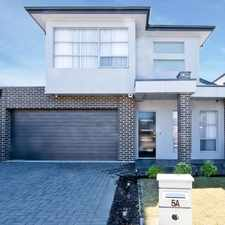 Rental info for EXECUTIVE RESIDENCE in the Adelaide area