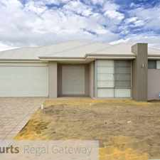 Rental info for Piara Waters - Large Family Home - $430 per week in the Perth area