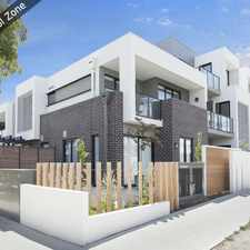 Rental info for Lifestyle Apartment within School Zone in the Bentleigh area