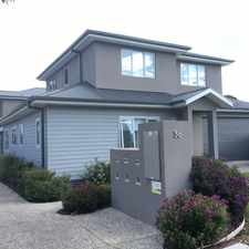 Rental info for As New Townhouse - Immaculate in the Rosebud area