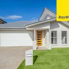 Rental info for IMMACULATE LOW MAINTENANCE HOME in the Brisbane area