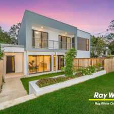 Rental info for Stunning New Townhouse Peaceful Parkland Position in the Chermside area