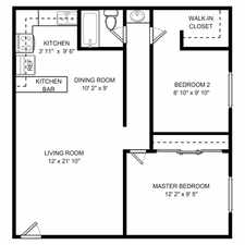 Rental info for Two Bedroom In Salinas