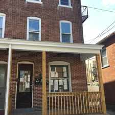 Rental info for 1136 Chestnut St in the Allentown area