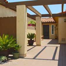 Rental info for 6821 Fashion Hills Blvd. in the Mission Valley West area