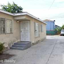 Rental info for 1062 West 60th Place