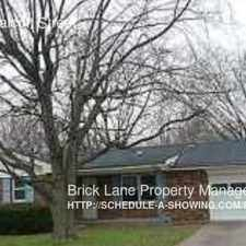 Rental info for 4212 S Walcott Street in the Indianapolis area