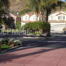 Rental info for Lovely Gated home in Wood Ranch