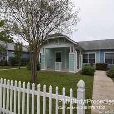 Rental info for 512 Euclid Ave 4 in the San Antonio area