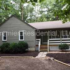 Rental info for 3008 Sagegrove Road, Midlothian VA - Charming 3 Bed/2 Bath Rancher Located In Brandermill Subdivision!