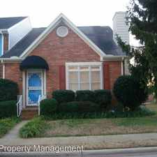 Rental info for 1532 Cambridge Place in the Oxford area