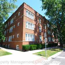 Rental info for 1946 W. Touhy Ave Unit 2W in the West Ridge area