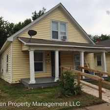 Rental info for 729 E Antler in the South Central area