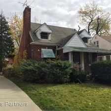 Rental info for 16734 Biltmore St. in the Detroit area