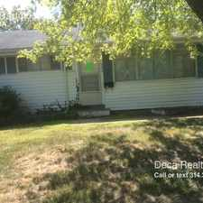Rental info for 7836 Dartmoor Dr in the St. Louis area