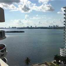 Rental info for 603 Northeast 23rd Street #1805 in the Miami area