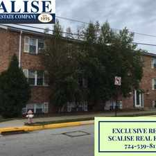 Rental info for 1st Floor 2 Bedroom Apartment In Latrobe