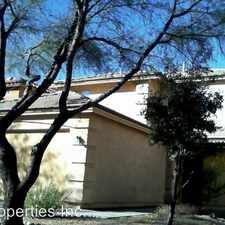 Rental info for 660 W Desert Blossom Dr in the Sahuarita area