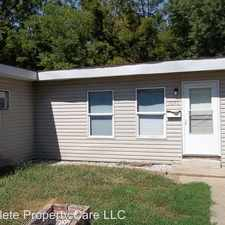 Rental info for 1646 W. 6Th in the Anderson area