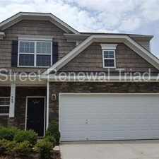 Rental info for Impressive Two-Story Home In Winston Salem in the Union Ridge area