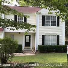 Rental info for 1653 Carrie Farm Lane NW