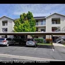 Rental info for 3861 South Canyon River Way #2