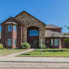Rental info for 6208 95th in the Lubbock area