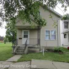 Rental info for 1234 Francis in the Fort Wayne area