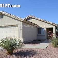 Rental info for $1075 3 bedroom House in Other Maricopa County