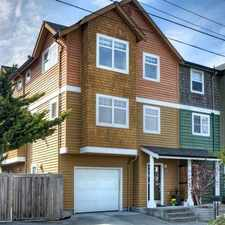 Rental info for 8379 31st Avenue Northwest in the Sunset Hill area