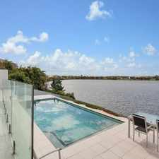 Rental info for THE GOLD COAST DREAM - PRESTIGE WATERFRONT 4 BEDROOM FAMILY HOME WITH POOL in the Carrara area