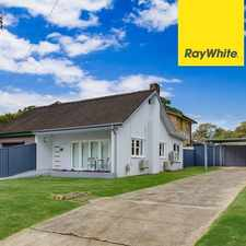 Rental info for Renovated Delight in the Sydney area
