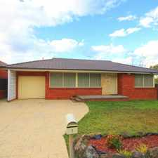Rental info for 3 Bedroom Family Home in the Chester Hill area