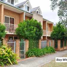 Rental info for THREE BEDROOM TOWNHOUSE IN PRIME LOCATION in the Sydney area