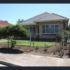 Rental info for Home offering utility allowances in the Adelaide area