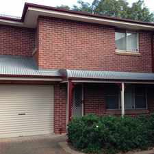 Rental info for CUTE 3 BEDROOM TOWNHOUSE in the Penrith area