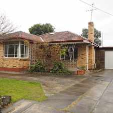 Rental info for Family Home Prime Location in the Heidelberg West area