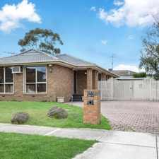Rental info for Beautiful Family Home Awaiting! in the Melbourne area