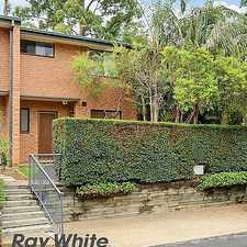 Rental info for Newly Renovated Townhouse in the Sydney area