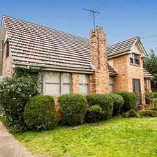 Rental info for CHARMING HOME IN COVETED LOCATION in the Heidelberg West area