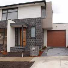 Rental info for Immaculate Brand New Townhouse in the Box Hill North area